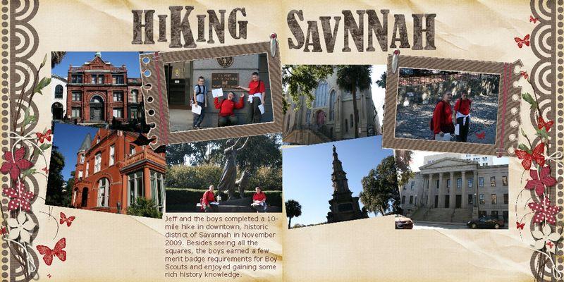 Hiking Savannah 3