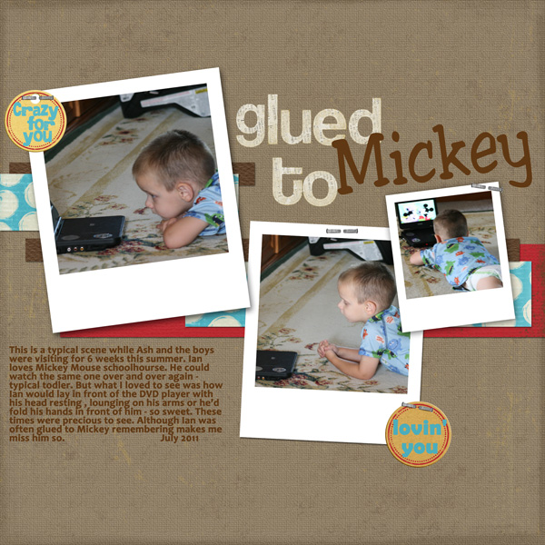 Glued-to-Mickey
