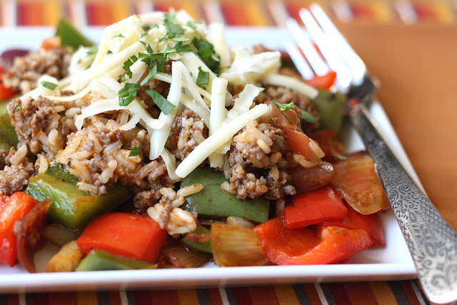 Mexican unstuffed bell peppers 2