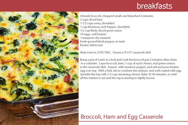 Broccoli-Ham-Casserole