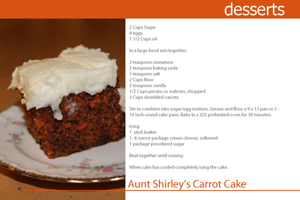Aunt-Shirley's-Carrot-Cake