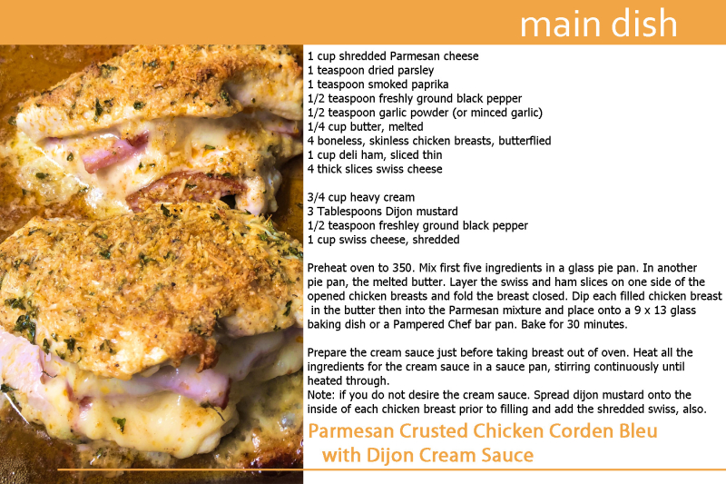 Parmesan Crusted Chicken Cordon Bleu copy