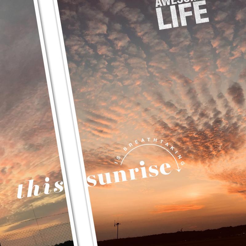 This sunrise 3