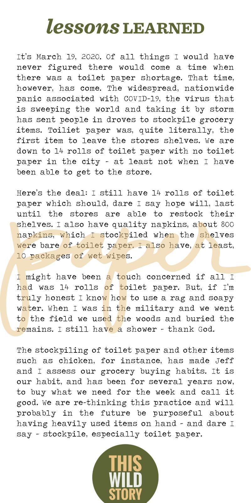 Just Write 4 x 8 Paper
