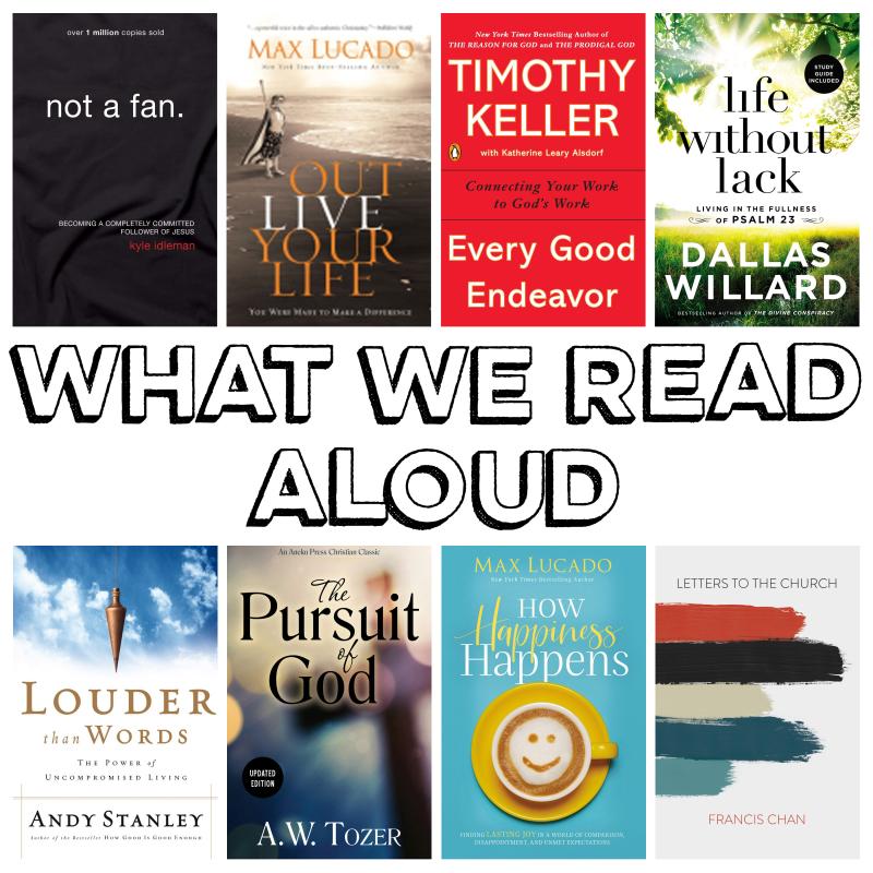 What We Read Aloud