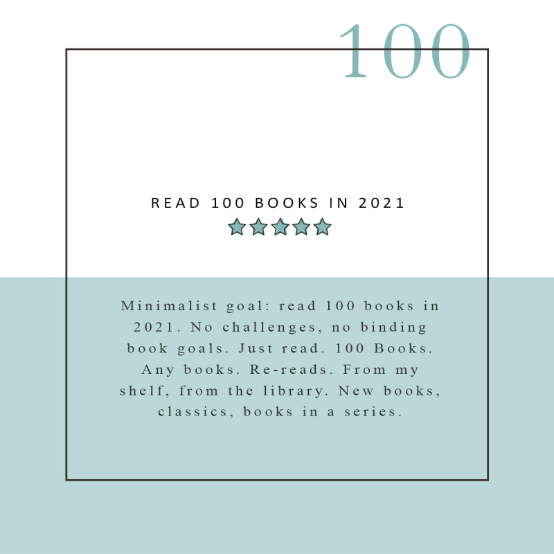READ 100 BOOKS IN 2021