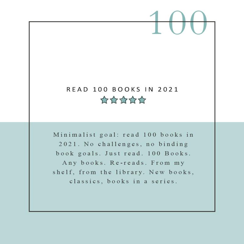 READ 100 BOOKS IN 2021