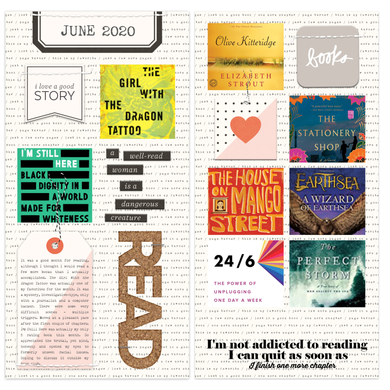 What I Read June 2020 Post