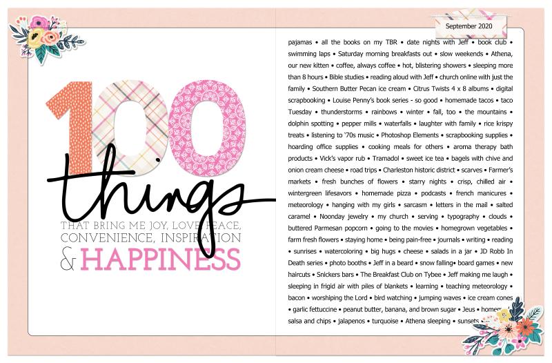 100 Things Post