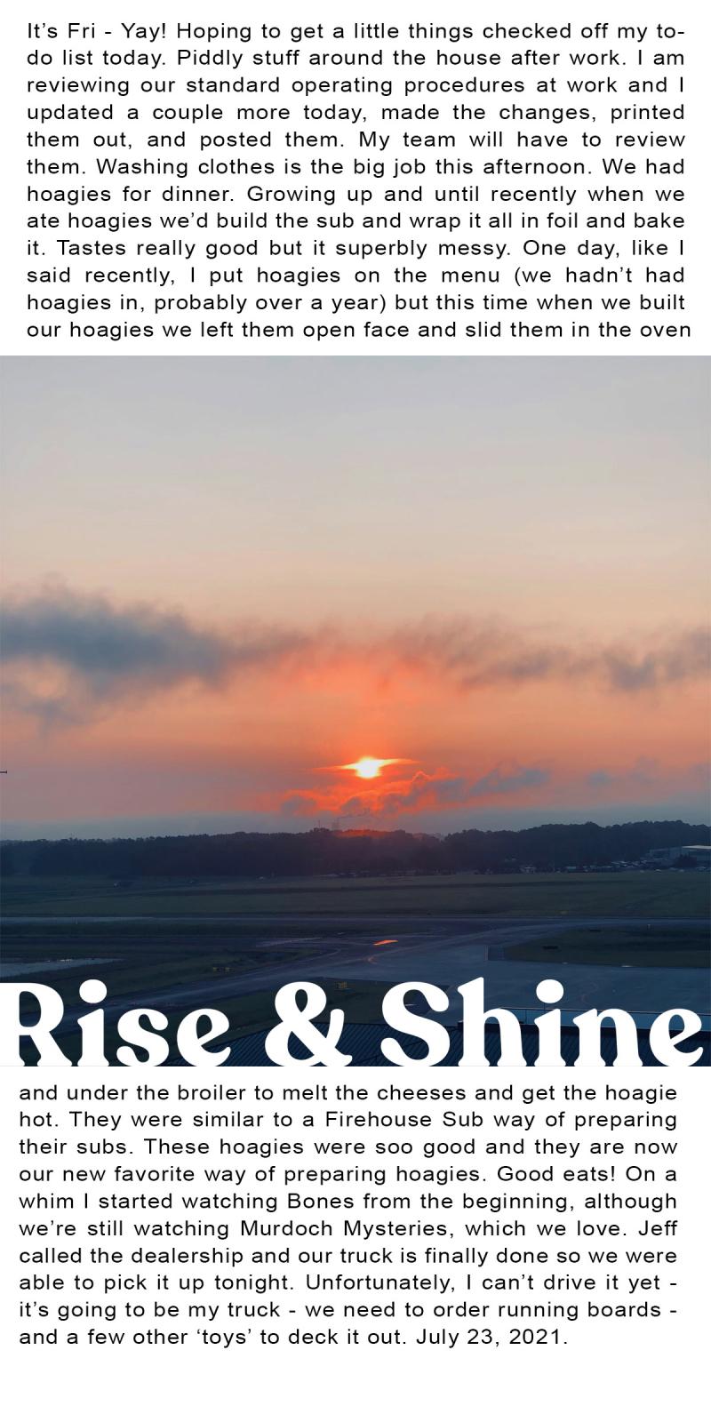 31 Sunrises 23