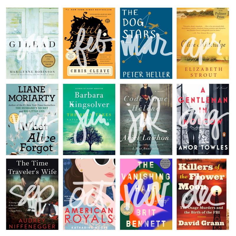 Book Club Reads 2020