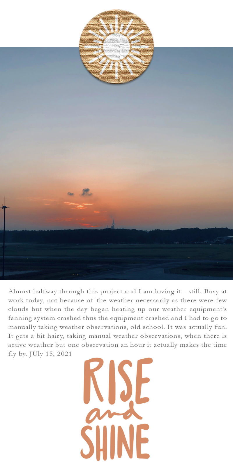 31 Sunrises 15