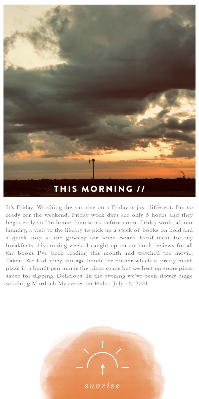 31 Sunrises 16