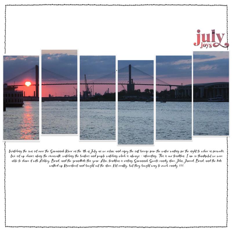July joys